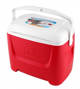 Igloo koelbox Island Breeze 28 passief 26 liter rood