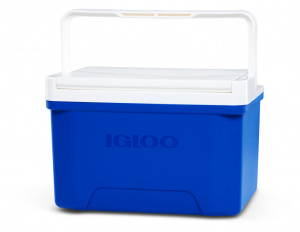 Igloo cool box Laguna 9 Blue 8 litre polyethylene blue/white