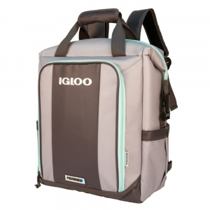 Igloo koelrugtas Marine Ultra Switch 19 liter grijs/groen