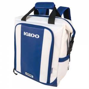 Igloo koelrugtas Marine Ultra Switch 19 liter wit/blauw