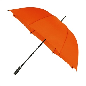 Impliva golfparaplu windproof 125 cm oranje