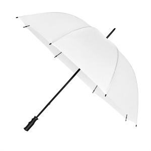 Impliva golfparaplu windproof 125 cm wit