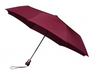 Impliva parapluie miniMAX distributeur automatique 100 cm bordeaux