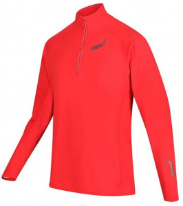 Inov-8 sportsweater Technical Mid heren polyester rood