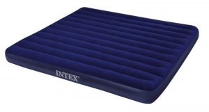 Intex Luchtbed 2-Persoons 203 x 183 x 22 cm blauw