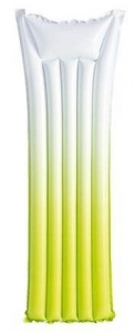 Intex Luchtbed Ombre 183 x 69 cm groen
