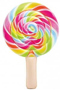 Intex luchtbed Lollipop 208 x 135 cm