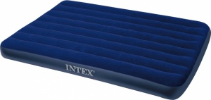 Intex Downy Full Classic luchtbed 2-persoons blauw