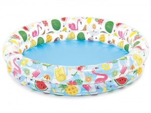 Intex opblaaszwembad Just So Fruity 122 x 25 cm multicolor