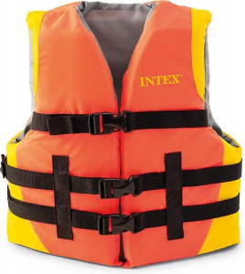 Intex reddingsvest junior 23 tot 41 kg nylon/PE-schuim oranje