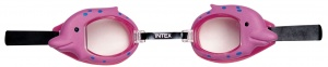 Intex Swimming Goggles dolfijn pink