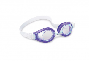 Intex zwembril Play Goggles junior 15 x 4 cm paars