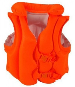 Intex Schwimmweste deluxe Junior Orange