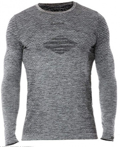 Iron-IC men's sports shirt polypropylene/polyester grey