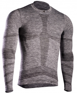 Iron-IC sportshirt thermo men's polyamide grey
