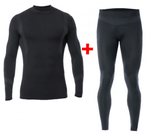 Iron-IC thermopak Thermic men's polyamide black 2-piece