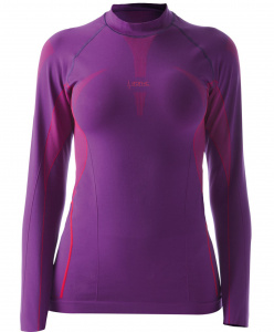 Iron-IC thermoshirt ladies polyamide purple