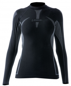 Iron-IC thermoshirt ladies polyamide black