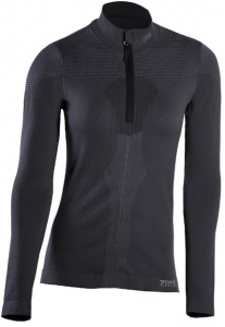 Iron-IC thermoshirt Fusion demi zip dames polyamide noir