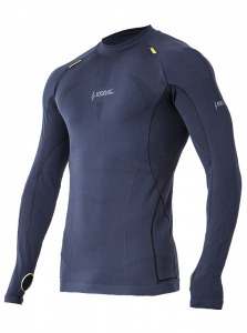Iron-IC thermoshirt men's polyamide / elastane dark blue