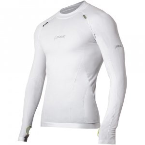Iron-IC thermoshirt men's polyamide / elastane white