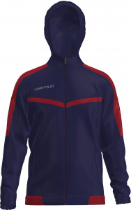 Jartazi veste de sport Torino Hooded junior navy/red