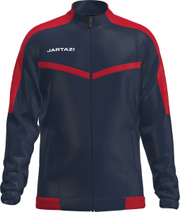Jartazi veste de sport Torino Poly Terry junior navy/red