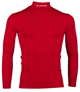 Jartazi thermoshirt à manches longues junior polyester rouge