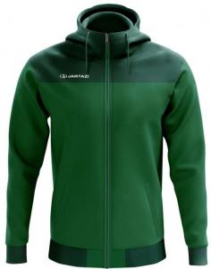 Jartazi hooded jacket Bari men polyester green