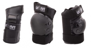 Johntoy Protection Set Urban District Deluxe schwarz