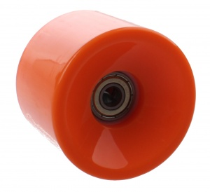 Johntoy Urban District Longboardwielen 65 x 51 mm 82A oranje