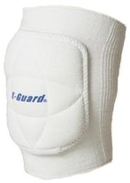 K-guard Champ kniebeschermer volleybal unisex wit