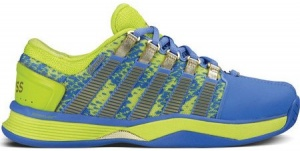 K-Swiss Sneakers HyperCourt 50th ladies yellow / blue