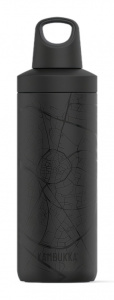 Kambukka thermos flask Reno InsulatedHasselt 500 ml black stainless steel