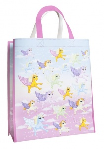 Kamparo unicorn shopping bag 25 liters pink