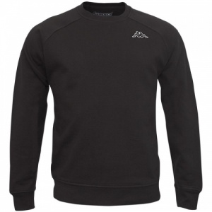 Kappa Basic Fleece Caimali Heren Zwart