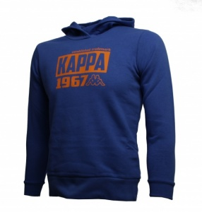Kappa Hooded Sweatshirt Ridder junior blauw