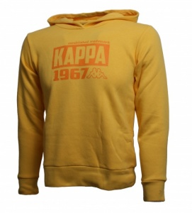Kappa Hooded Sweatshirt Ridder junior geel