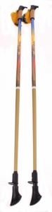 Karhu Nordic Walking Cane Gold Pro mt 100 cm set blue