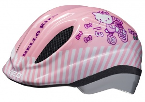 KED casque de vélo Meggy Hello Kittyfille rose