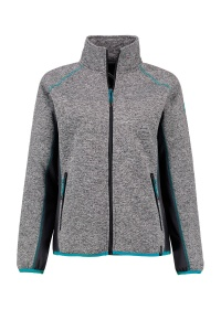 Kjelvik fleecejacke Evelyn Damen grau