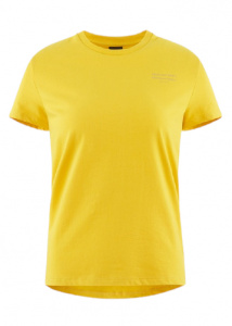 Klättermusen T-shirt Runa ladies cotton yellow