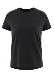 Klättermusen T-shirt Runa ladies cotton black