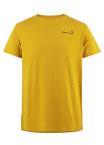 Klättermusen T-shirt Runa men's cotton yellow