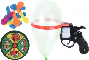 Free and Easy ballonpistool-spel junior zwart/rood