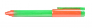 Free and Easy waterspuiter 13 cm oranje/groen