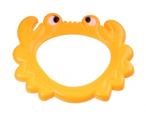 Free and Easy diving mask animals junior orange