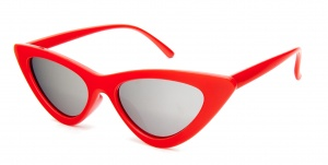 Kost sunglasses ladies red with mirror lens (19-001)