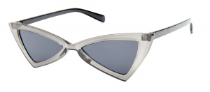 Kost sunglasses ladies butterfly transparent grey/smoke