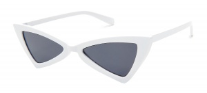Kost sunglasses ladies butterfly white/smoke